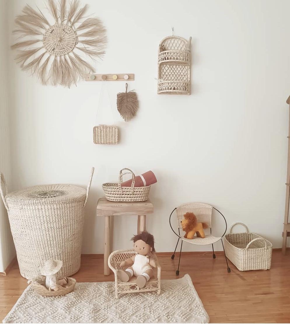 Coconeh - Rattan Dolls Bench