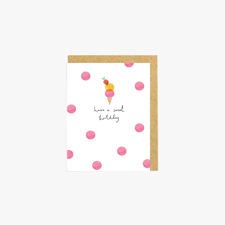 Shrew and Co - Sweet Birthday Card