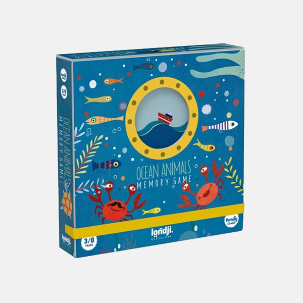 Londji - Ocean Animals Memory Game
