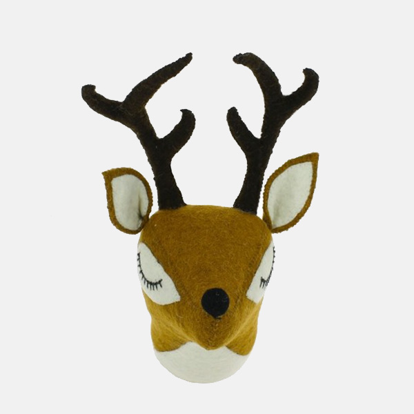Fiona Walker - Mini Sleepy Reindeer Head