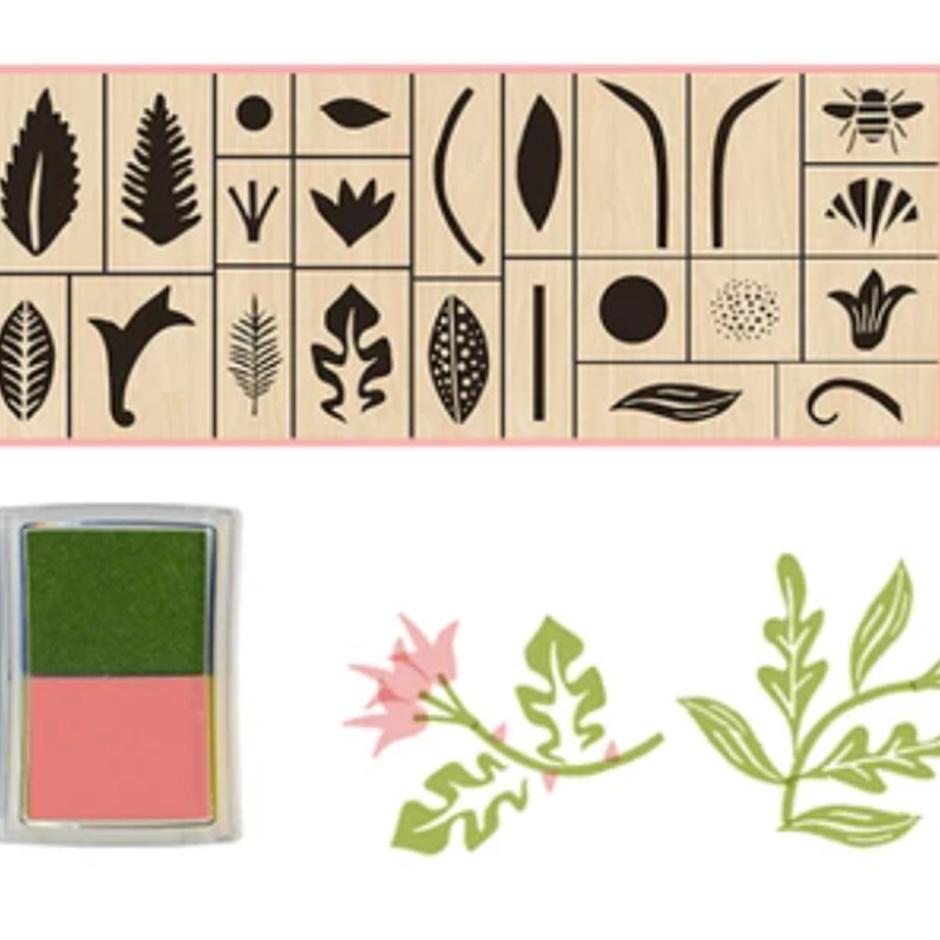 Coralie Bickford-Smith - Garden Stamps Set