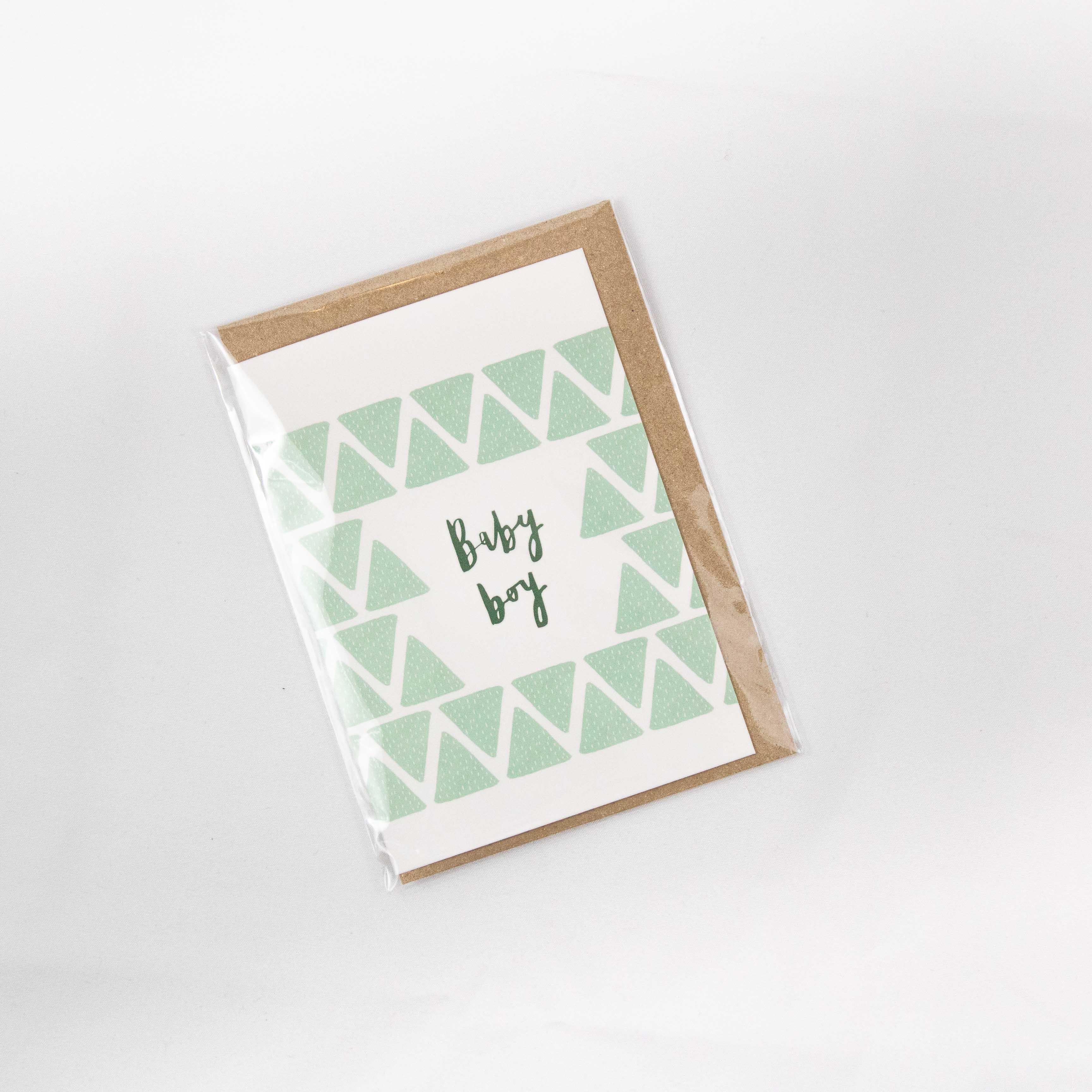 Plewsy - Baby Boy Card
