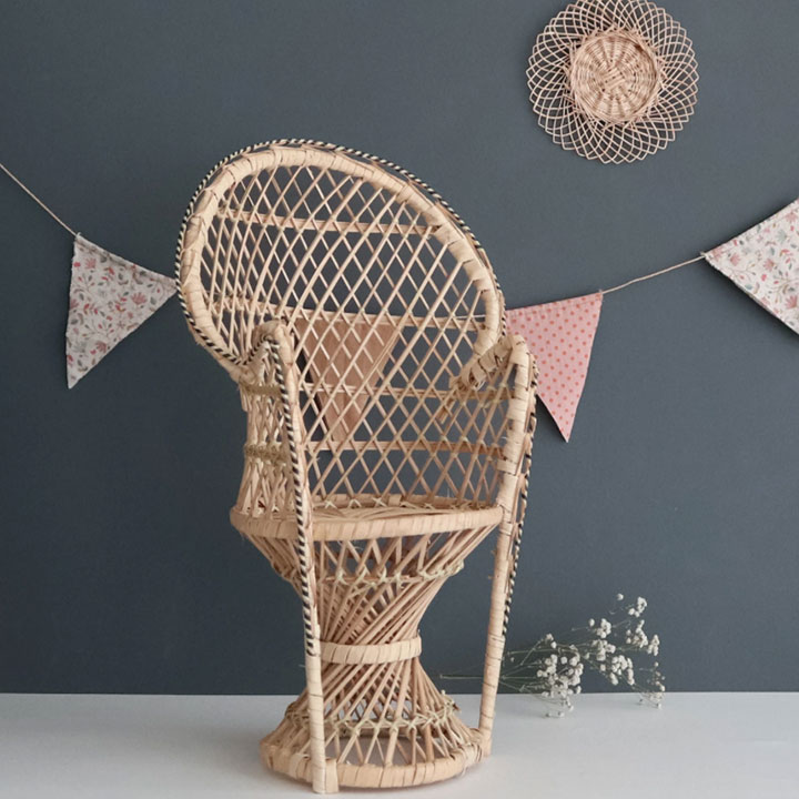 Coconeh - Rattan Dolls Peacock Chair