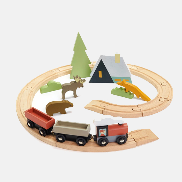Tenderleaf Toys - Treetops Train Set