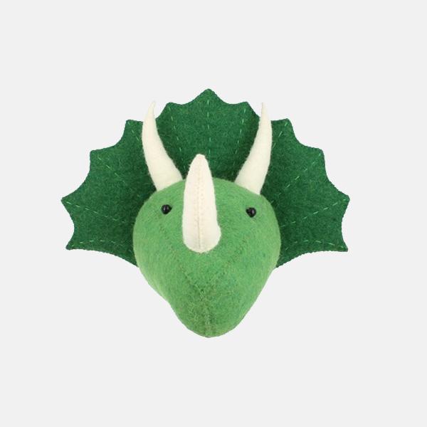 Fiona Walker - Mini Triceratops Head