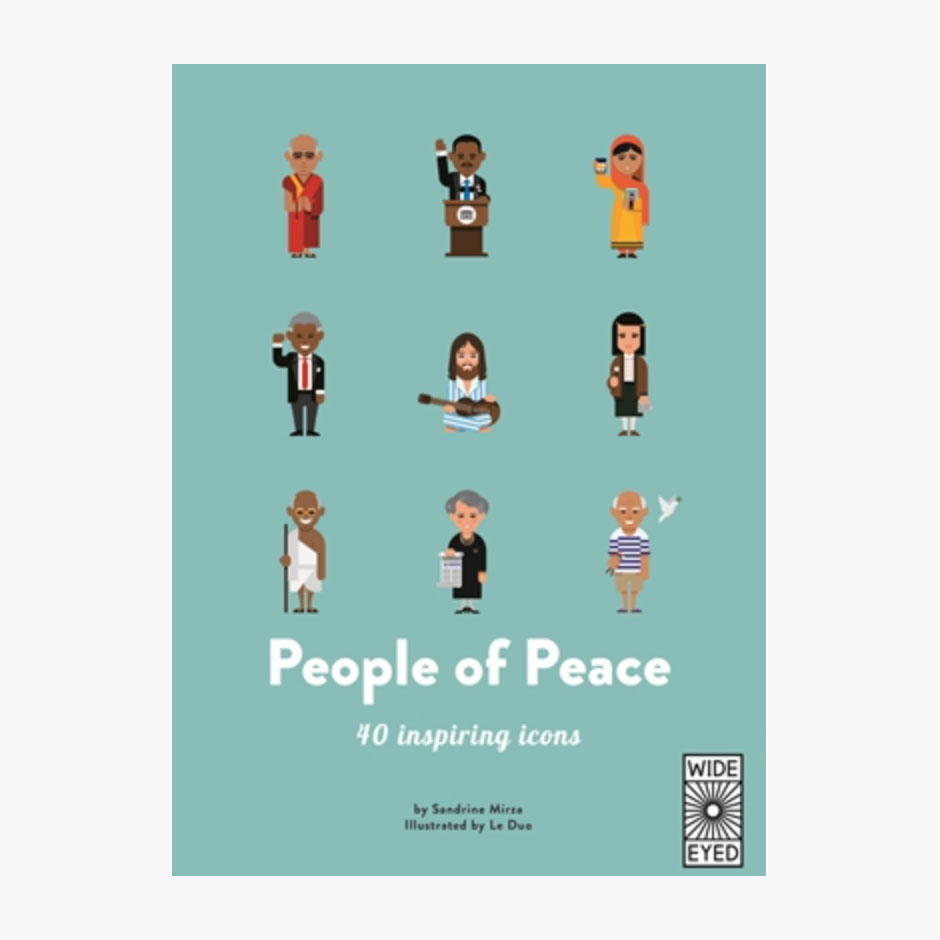 40 Inspiring Icons: People of Peace Hardback Book