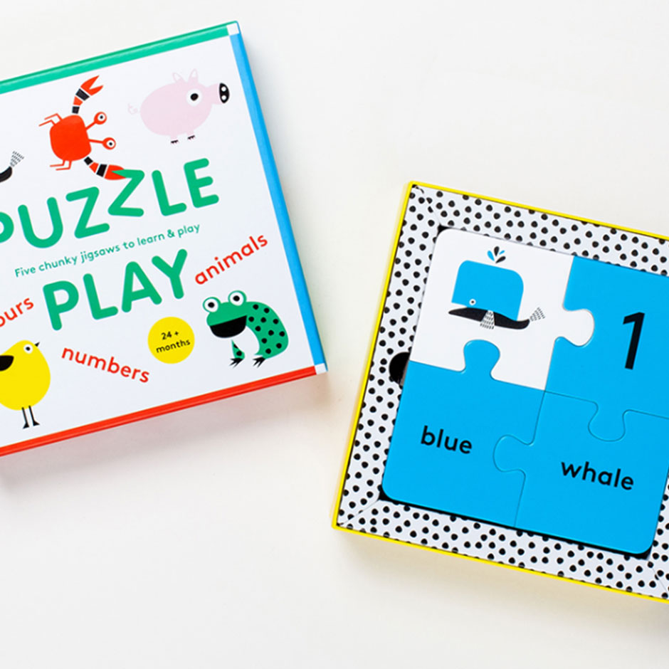 Puzzle Play - 5 Jigsaws To Learn & Play