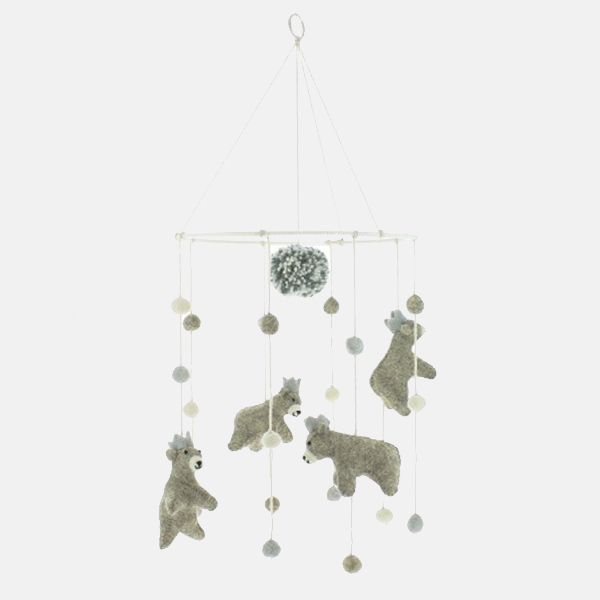 Fiona Walker - Mini Baby Bear Mobile