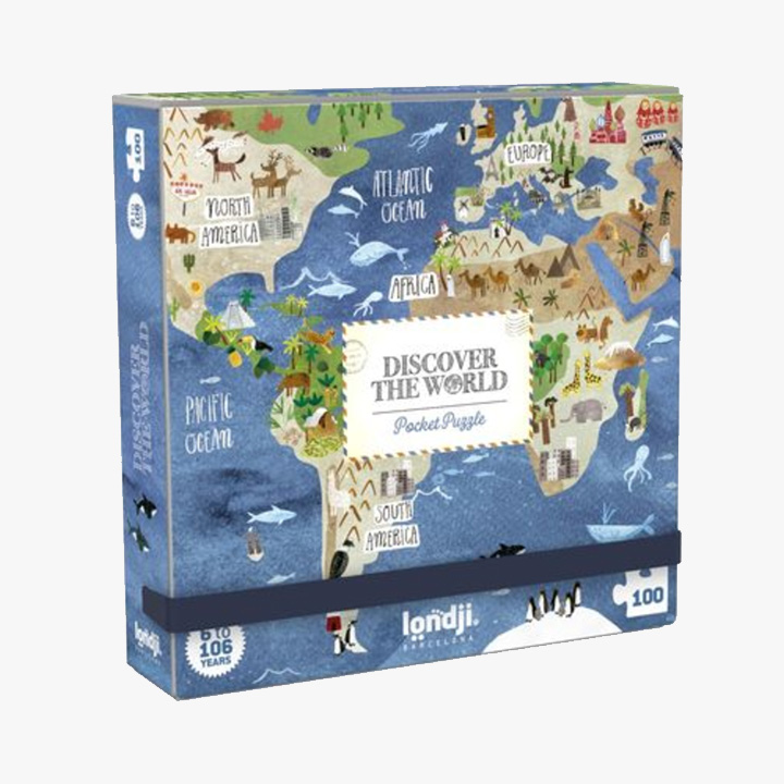 Londji - Pocket World Puzzle