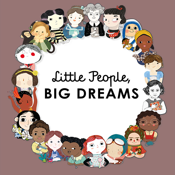 Hardback Little People Big Dreams - Hardbacks