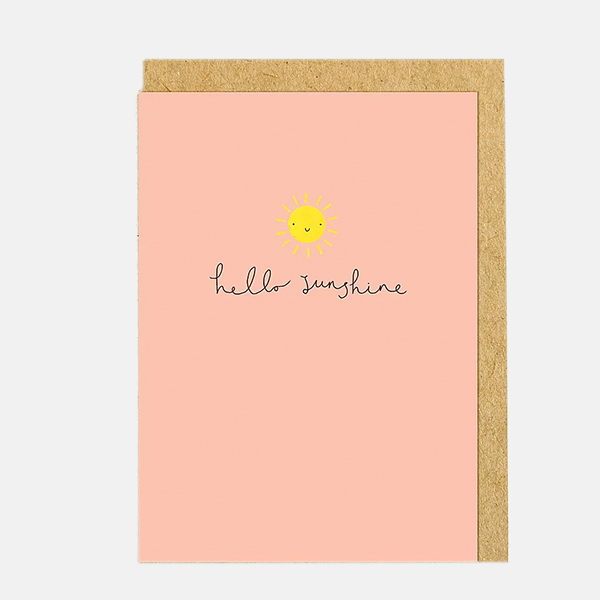 Shrew And Co - Sunshine Card
