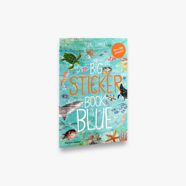 Big Sticker Book - Of The Blue