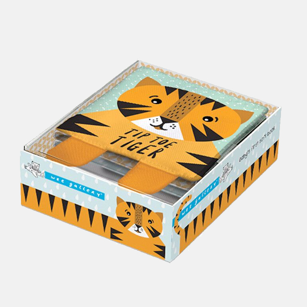 Wee Gallery - Tiger Soft Book