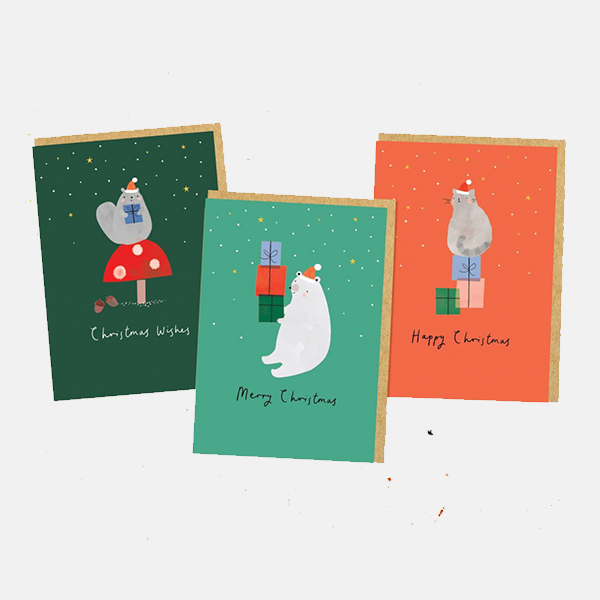 Shrew & Co - Mini Christmas Card Pack