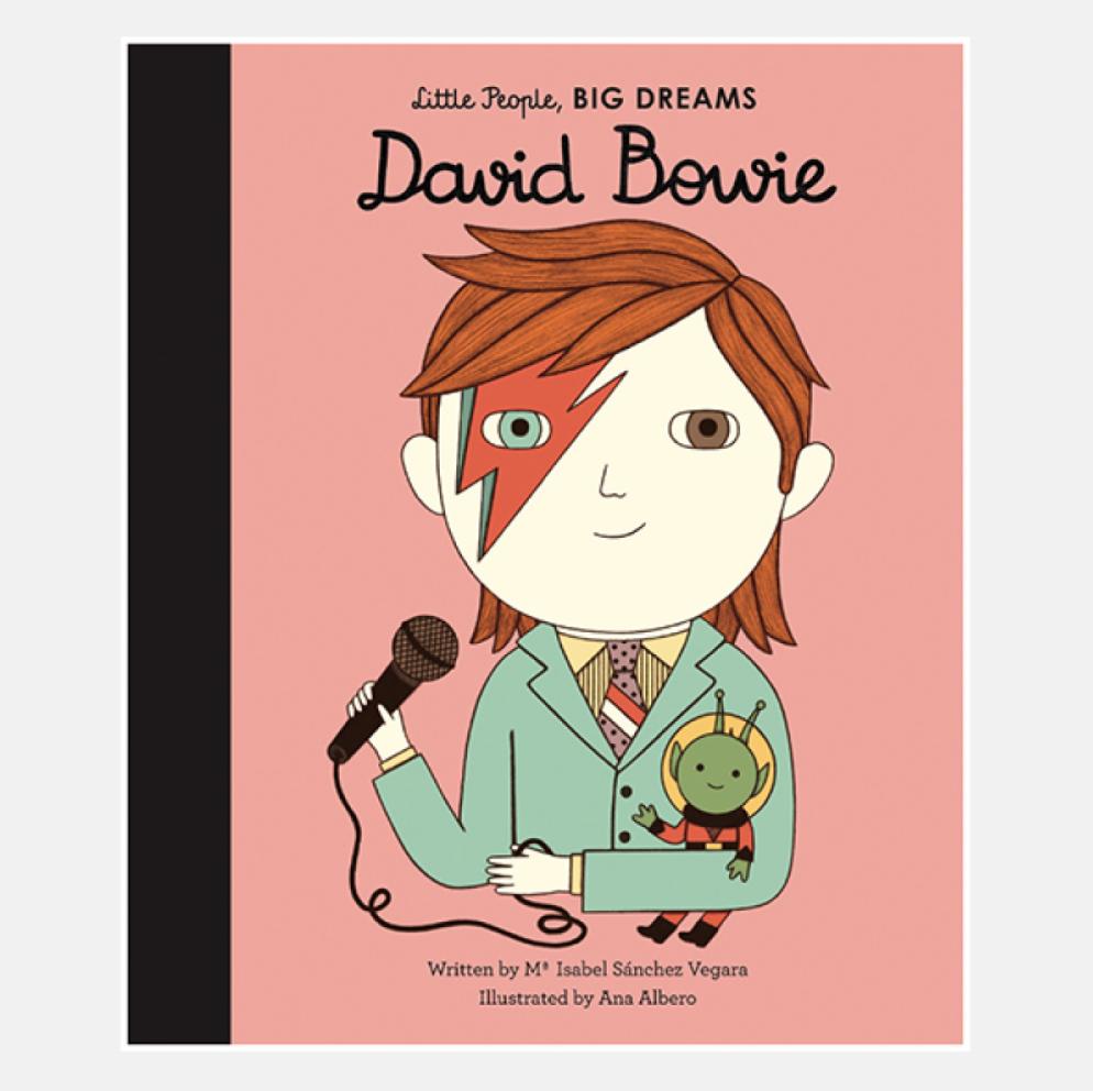 David Bowie - Little People Big Dreams Hardback