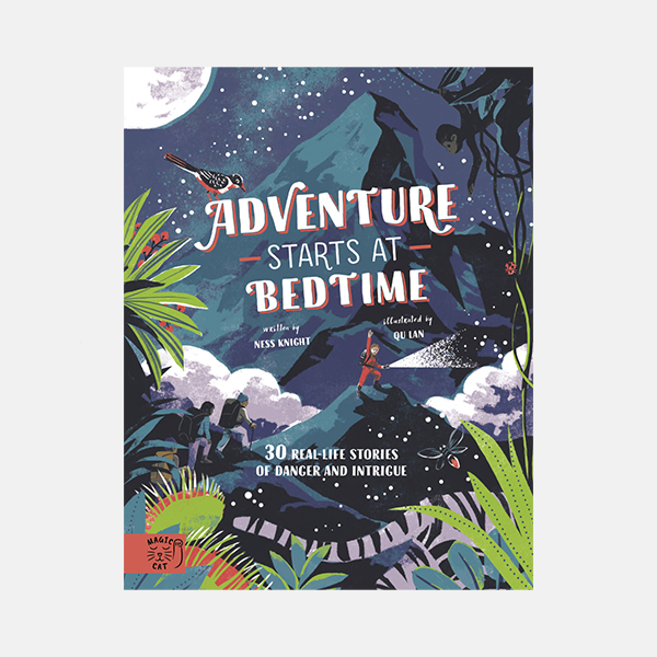 Adventure Starts At Bedtime - Hardback Book