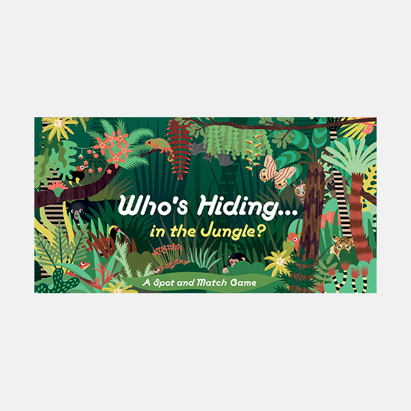 Who's Hiding In The Jungle? A Spot & Match Game