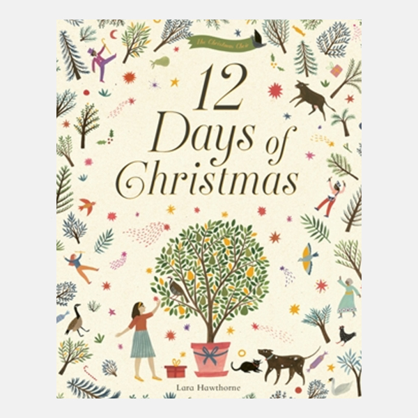 The Twelve Days of Christmas - Hardback Book