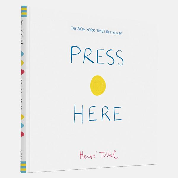 Press Here -  Hardback Book
