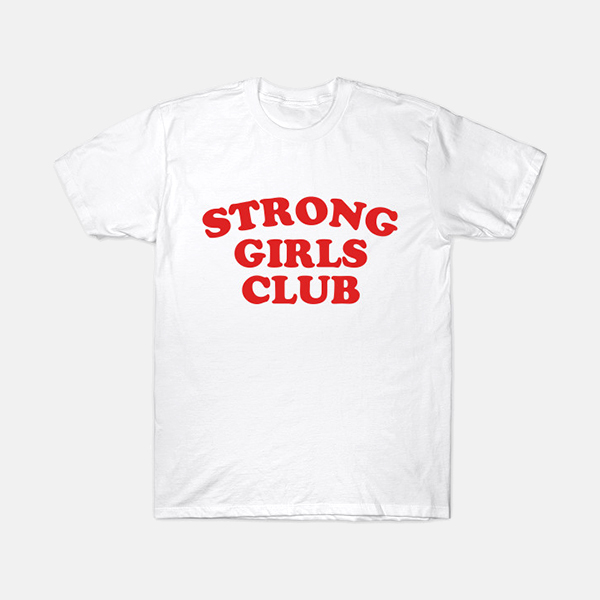 Muthahood - Adults Strong Girls Club Tee