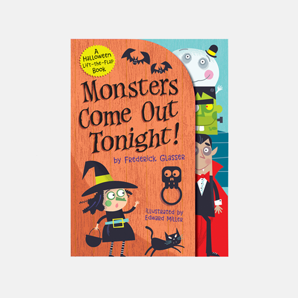 Monsters Come Out Tonight - Board Book
