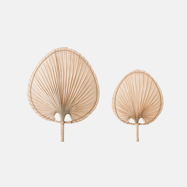 Bloomingville - Palm Leaf Wall Decor (Set of Two)