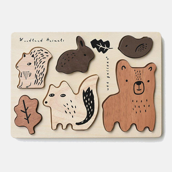Wee Gallery - Woodland Animal Puzzle