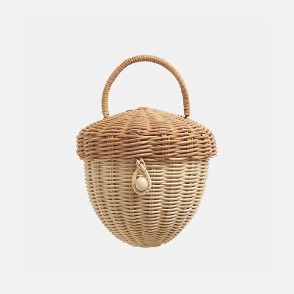 Olli Ella - Rattan Acorn Bag