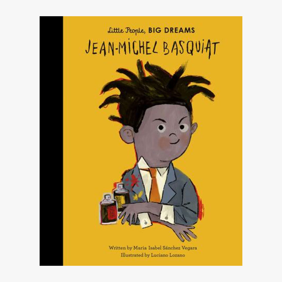 Jean-Michel Basquiat - Little People Big Dreams Hardback Book