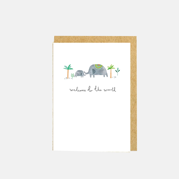 Shrew And Co - Welcome Card