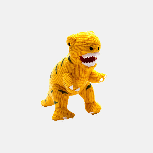 Best Years - T Rex Rattle Yellow