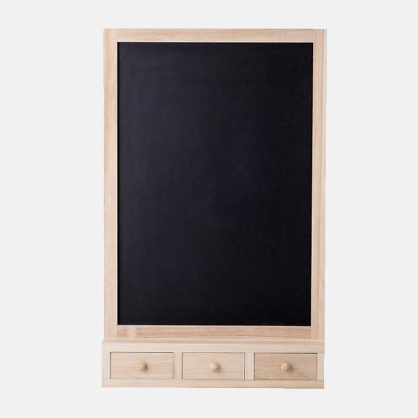 Bloomingville - Blackboard Storage Shelf