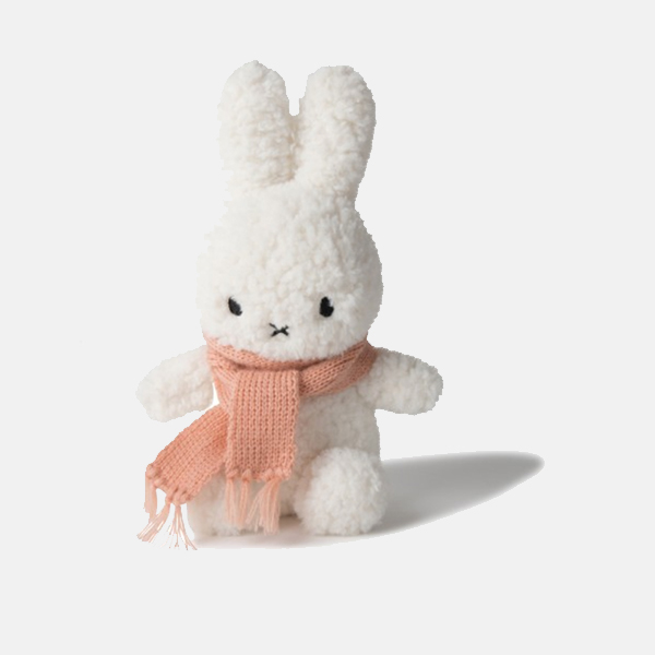 Holiday Miffy -  Fluffy With Peach Scarf