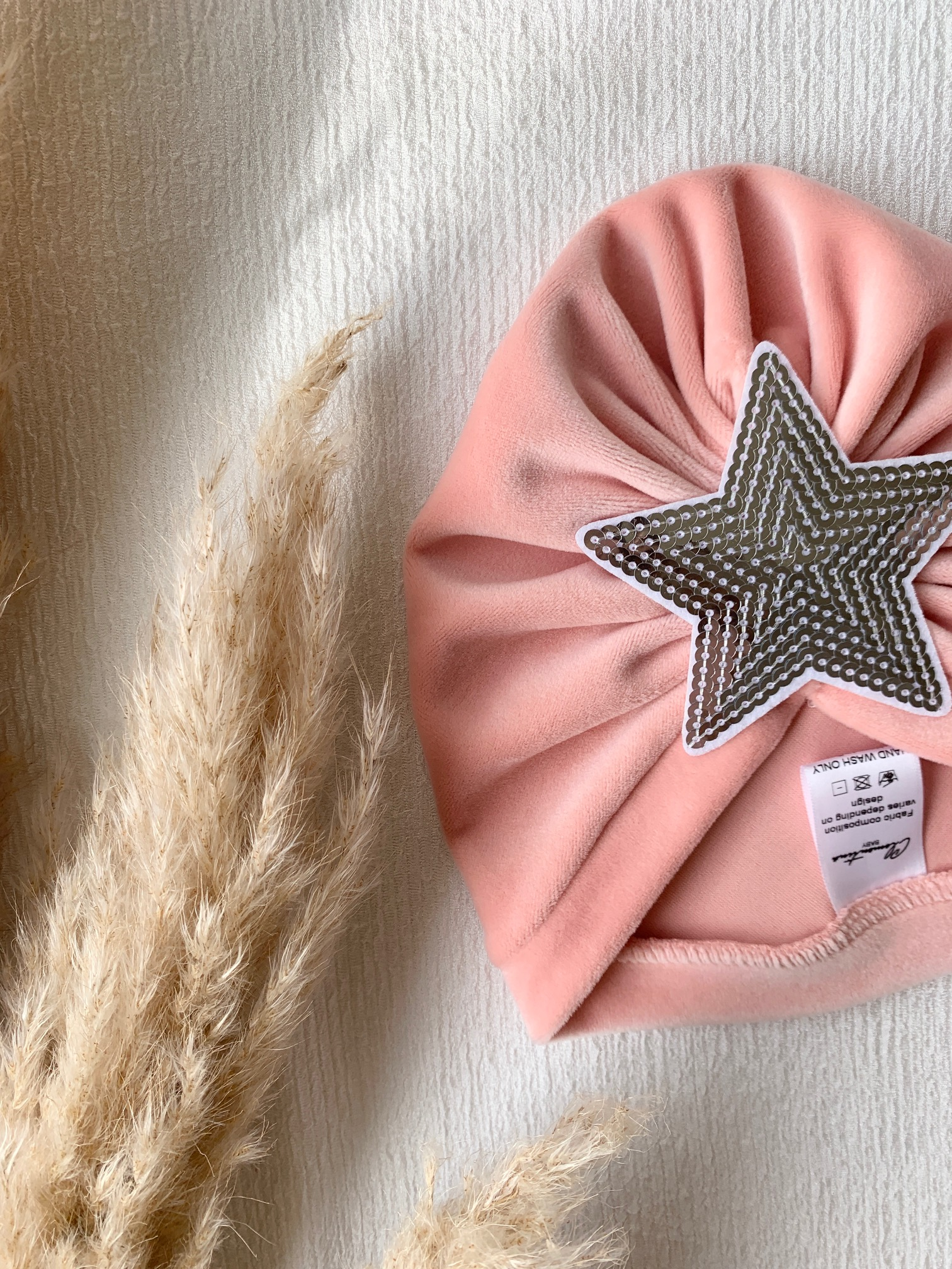 Clementina Baby - Pink Star Turban