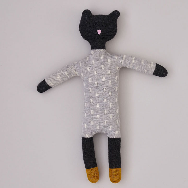 Sophie Home - Grey Cat Soft Toy