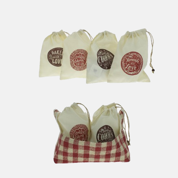 Fiona Walker - Mini Cotton Cookie Bags
