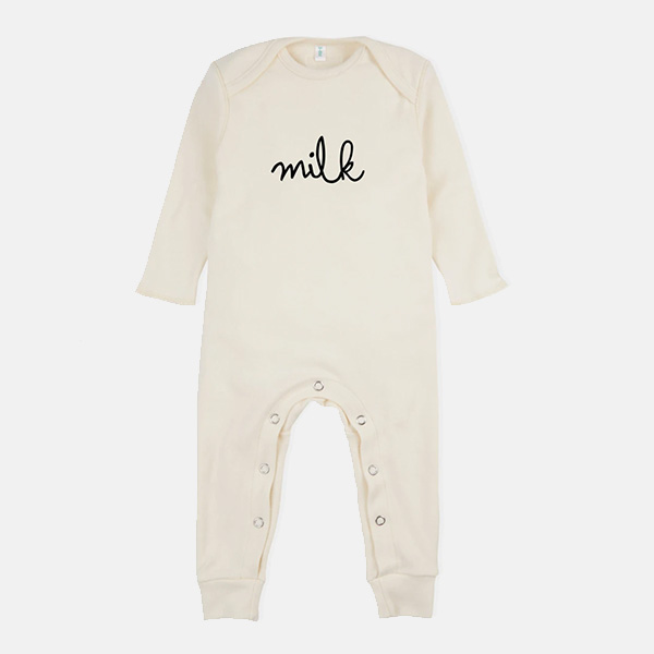 Organic Zoo - Milk Playsuit