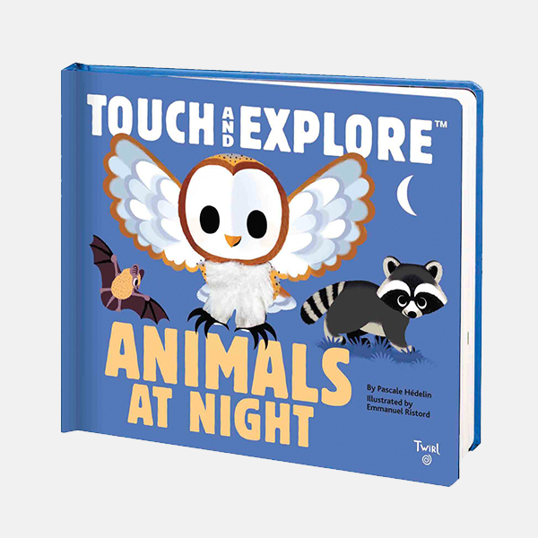 Touch & Explore Animals at Night Board Book