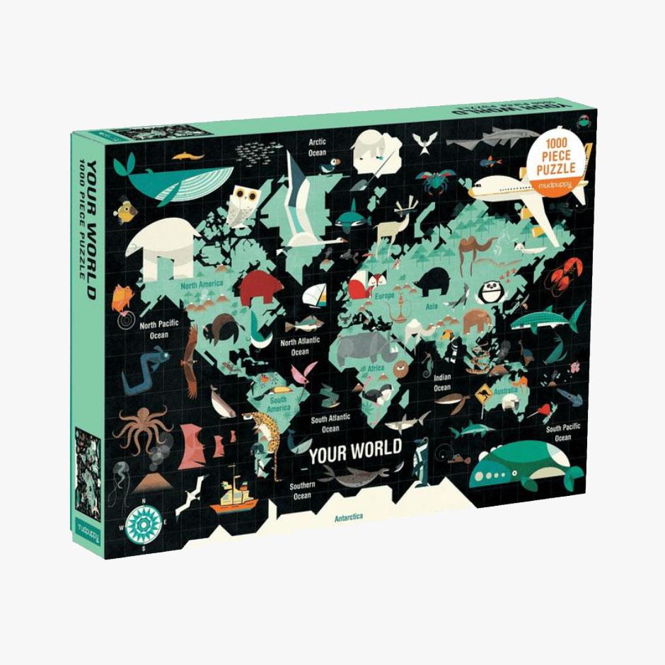 MudPuppy - Your World 1000 Piece Puzzle
