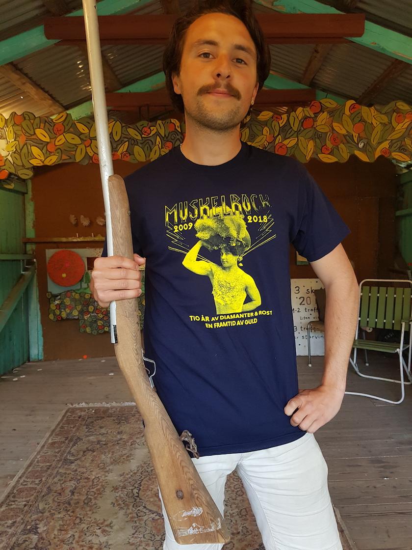 MR 2018 (10 years anniversary) T-shirt (Blå)