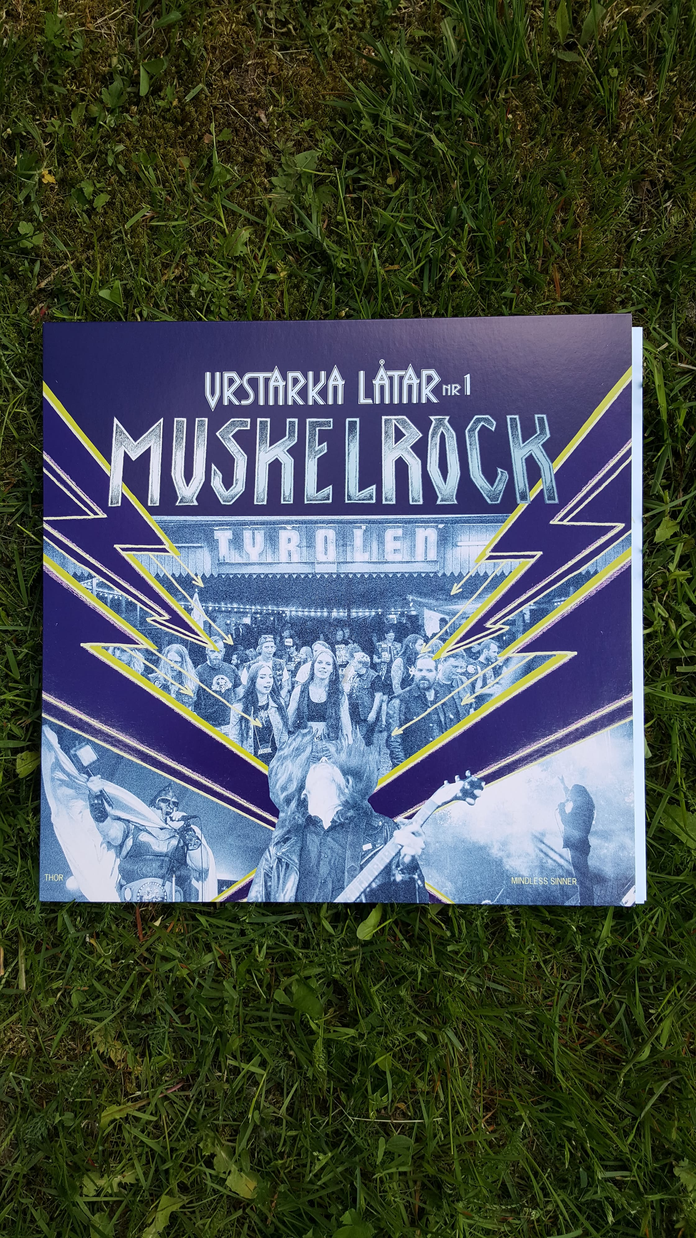 Urstarka Låtar #1 Vinylskiva