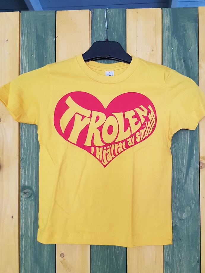 Barn T-shirt, Tyrolen - I hjärtat av Småland