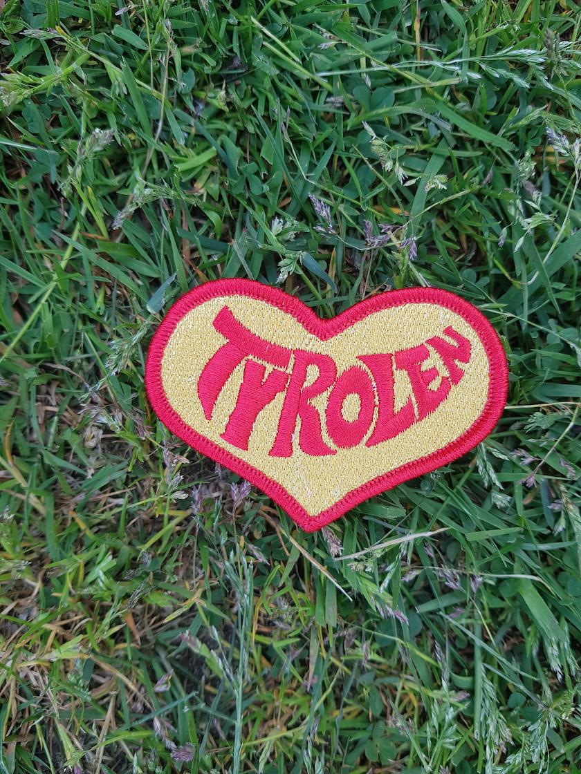 Tyrolen Tygmärke Hjärta