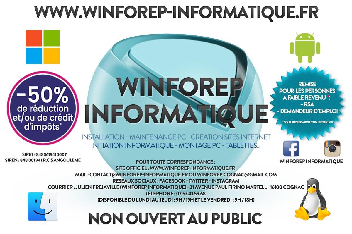 WinForep Informatique (Mr.JULIEN FREJAVILLE)