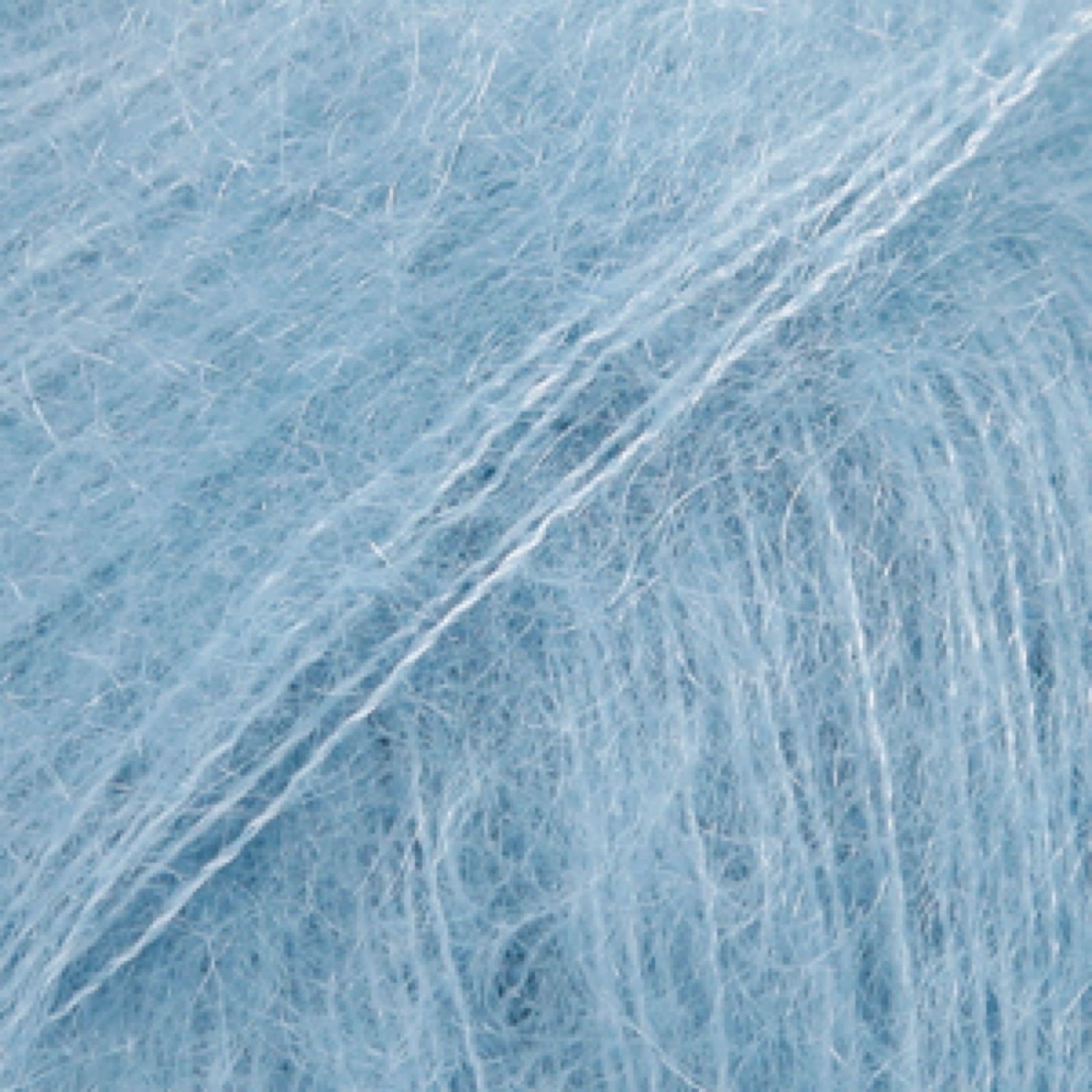 Drops Kid-Silk, uni colour 08 lys jeansblå