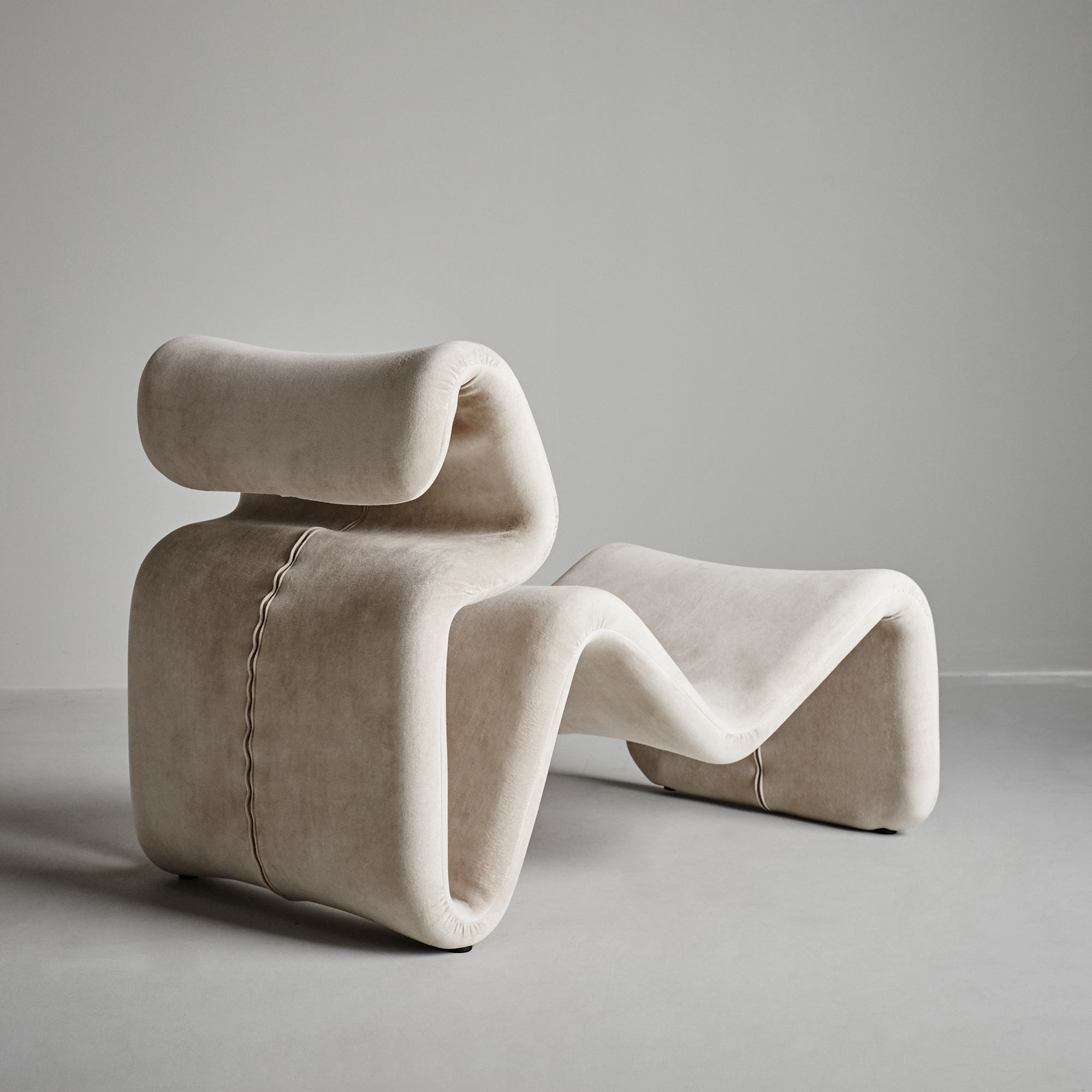 Etcetera Lounge Chair Kollekted By AS