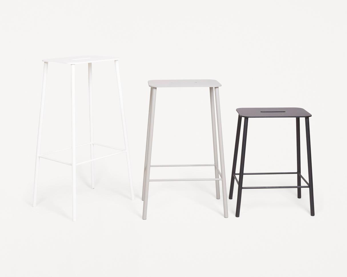 Frama Adam Stool Mono | Grey | H65