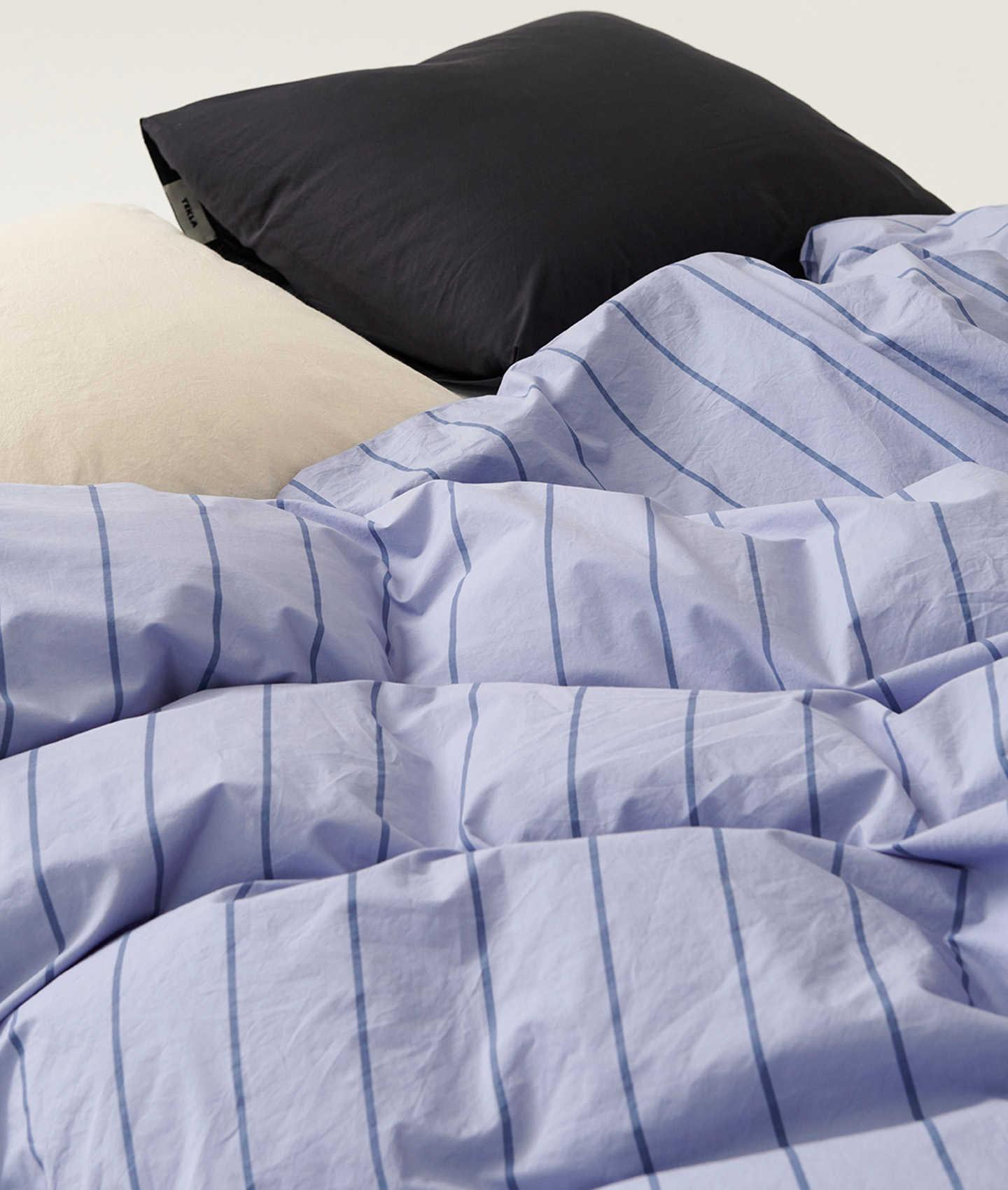 Tekla Duvet Cover Cotton 200 cm - Evening Light