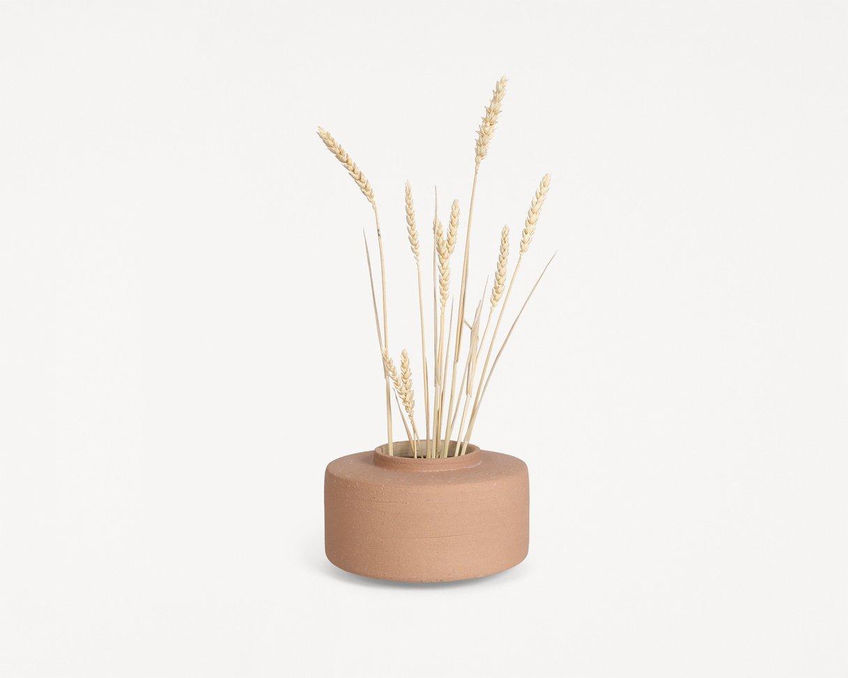 Frama Platform Vase / Terra Sand / Small