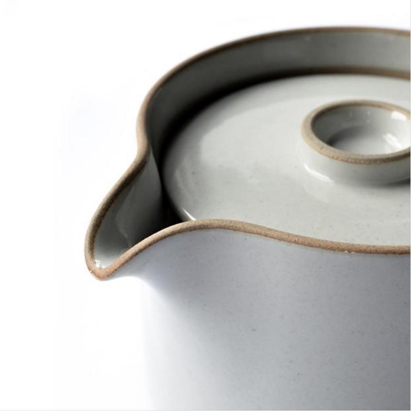 HPM018 Hasami Tea Pot grey glossy